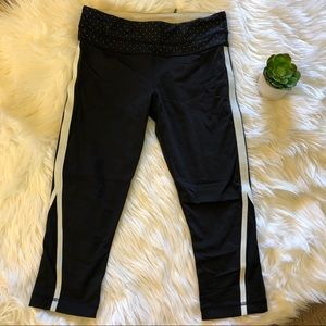 Lululemon • Black and White Cropped Leggings
